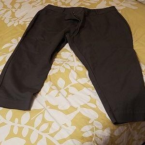 Dark grey capri/crop pant